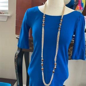 3/$20 Sarah Coventry 3-Strand Necklace